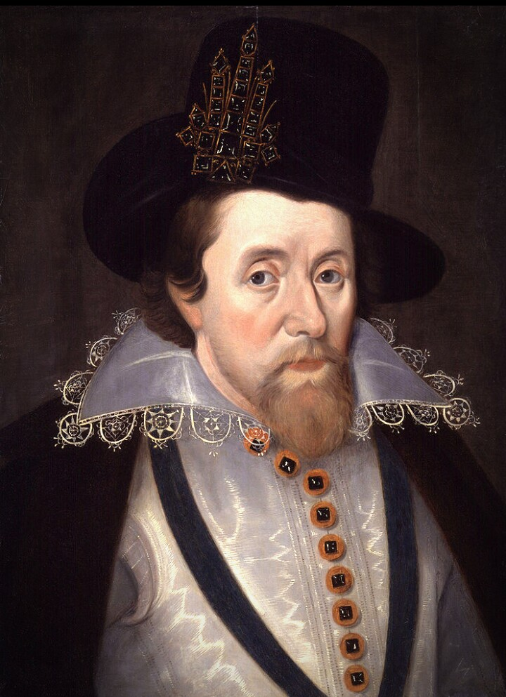 Portrait of James I (Jon de Critz, 1606)