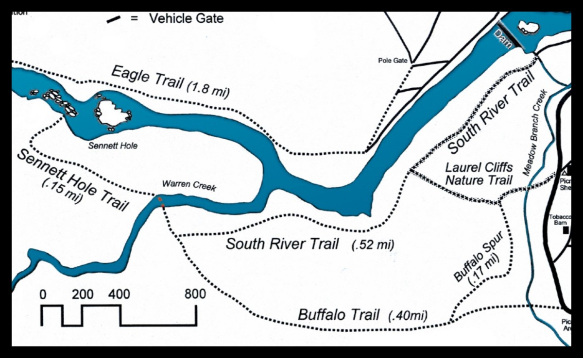 Map of South River Trail