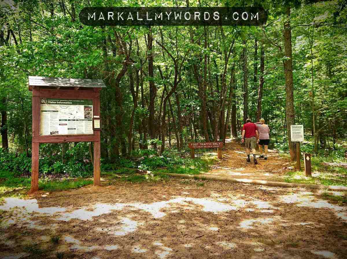 Occoneechee Mountain Loop Trailhead