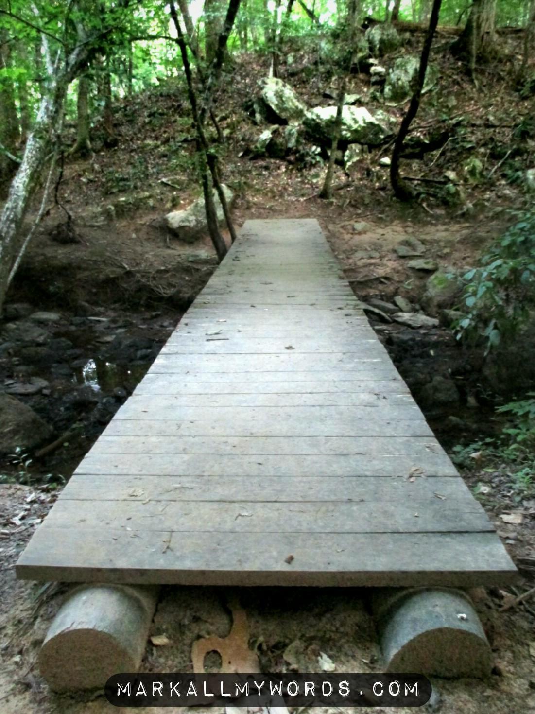 Bridge over Pea Creek