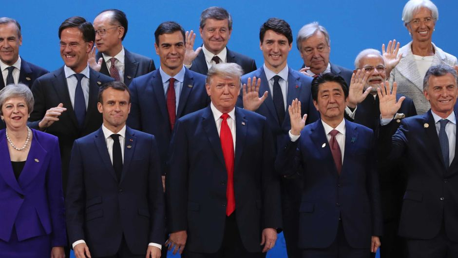 World Leaders at G20.