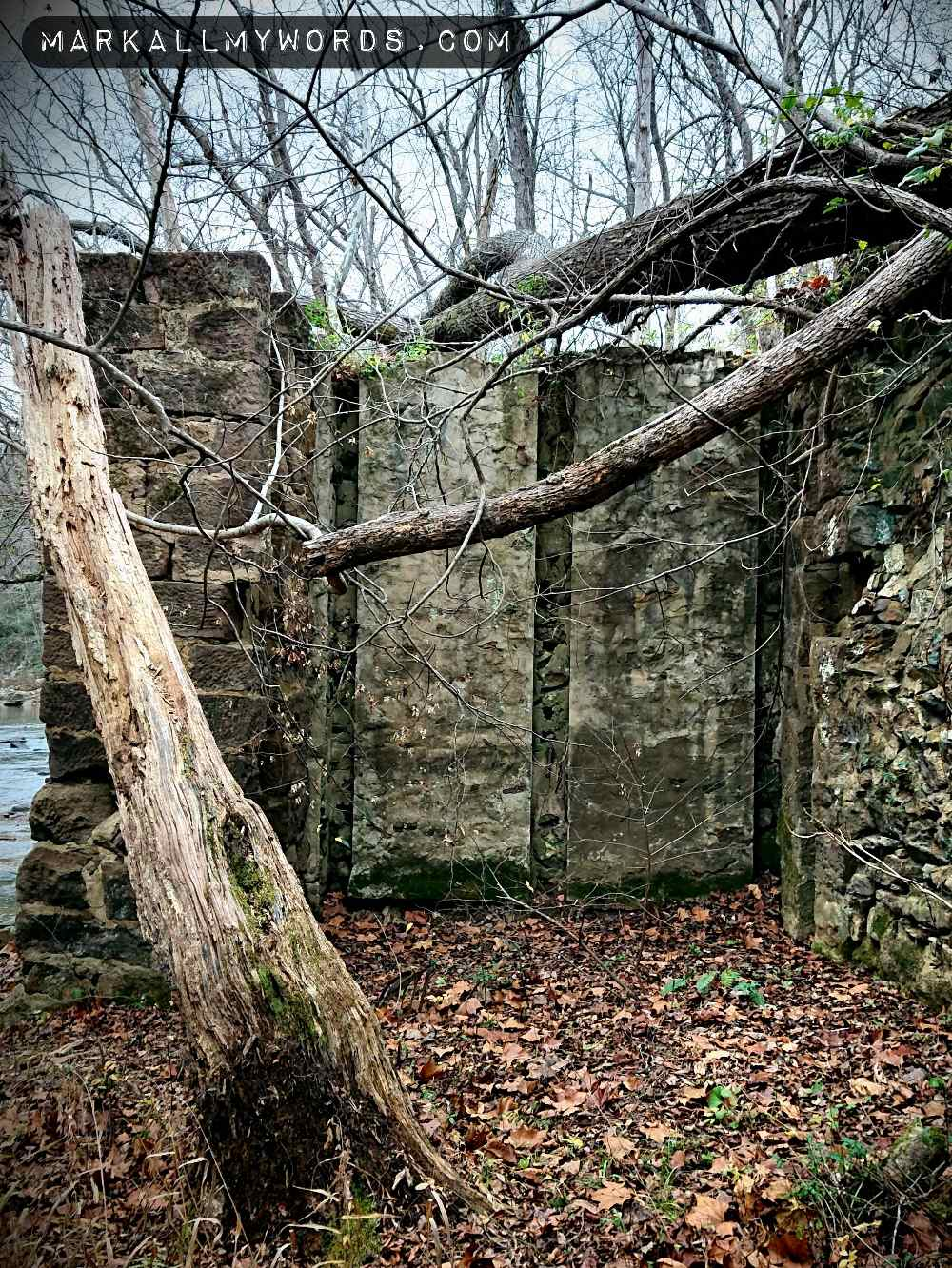 Old abandoned pump house