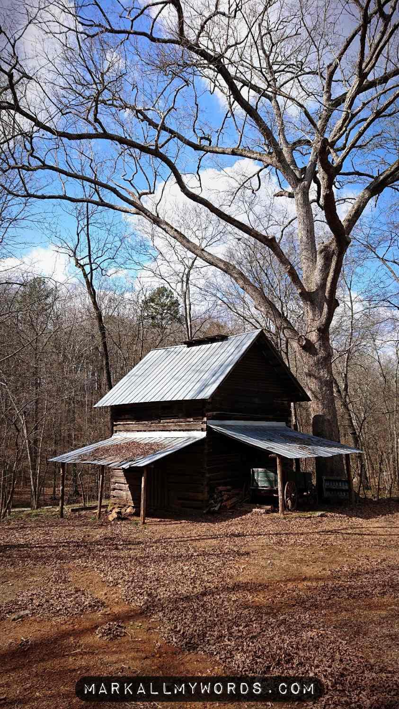 Old tobacco barn