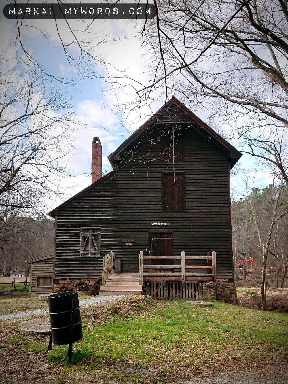 West Point Mill, looking like a schoolhouse