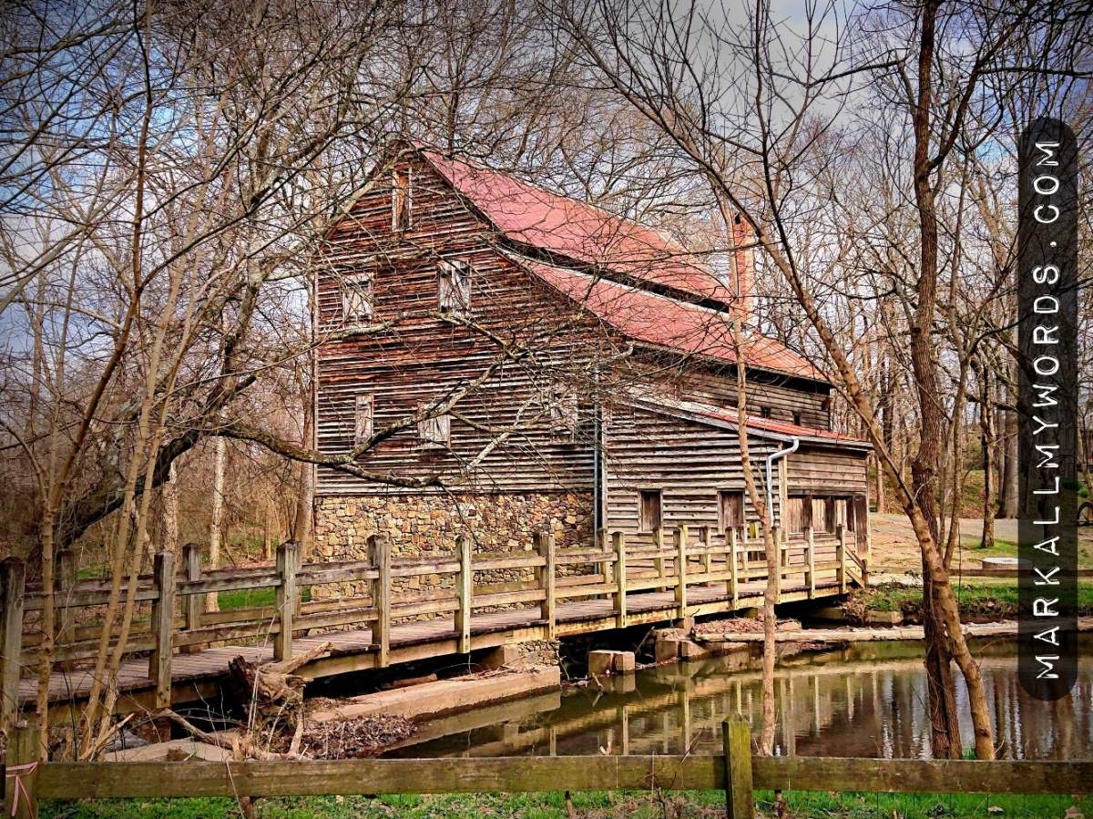 West Point Mill with mill race